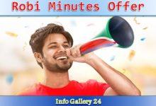 Robi Minutes Offer
