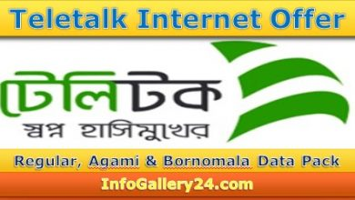 Teletalk Internet Offer