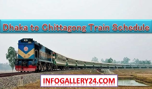 Dhaka to Chittagong Train Schedule